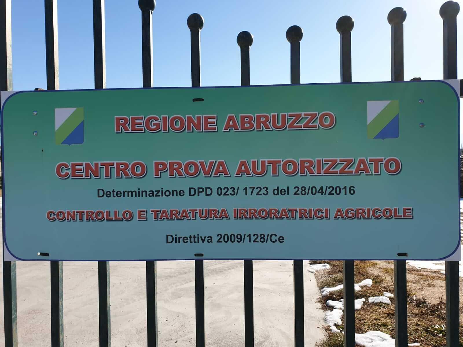 centro prova autorizzato regione Abruzzo